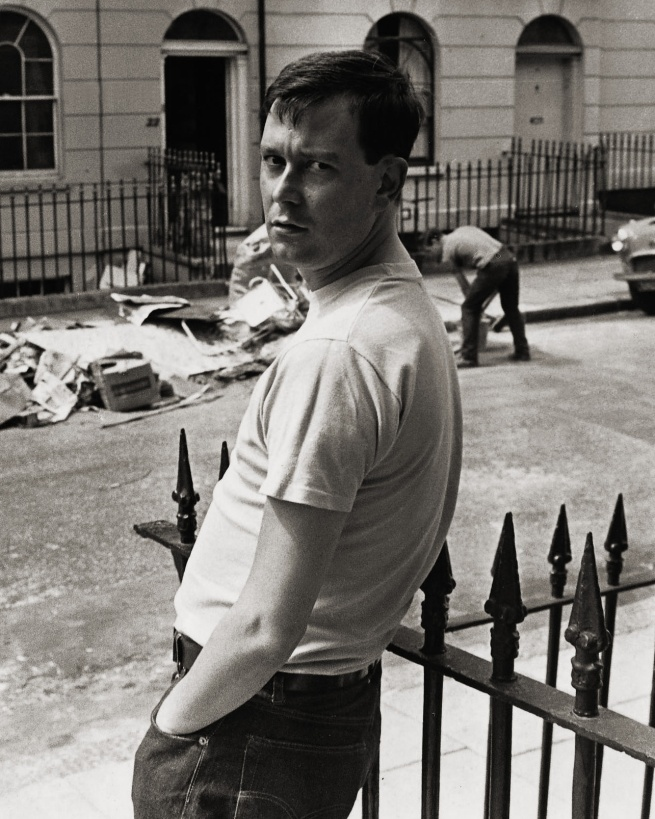 George Elam. 'Joe Orton in Islington, London' 1967