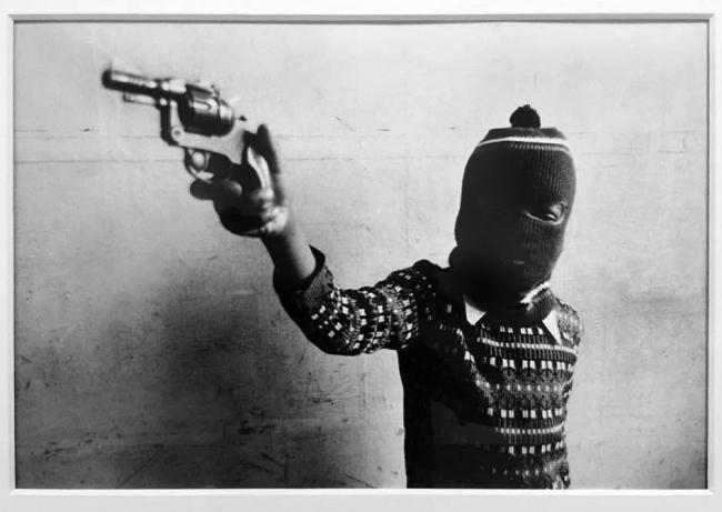 Dennis Morris. 'Young Gun, Hackney' 1969, printed 2012