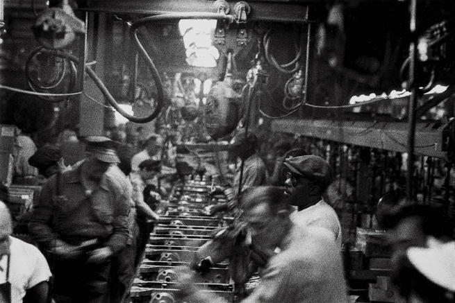Robert Frank. 'Assembly Line, Detroit' 1955