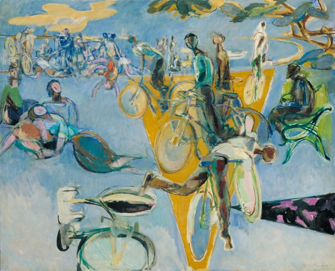 Robert Medley (1905-1994) 'Summer Eclogue No. 1: Cyclists' 1950