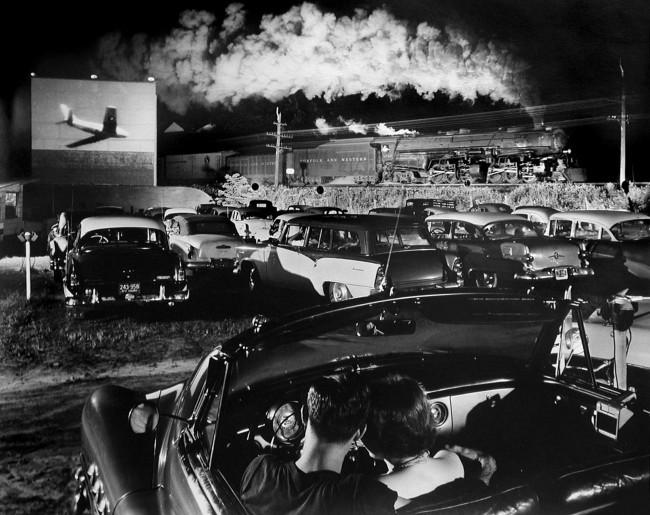O. Winston Link. 'Hot Shot Eastbound' 1956