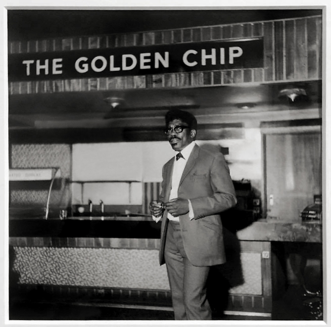 Raphael Albert (1935-2009) 'The Golden Chip, Hammersmith, London' c. 1970, printed 2012