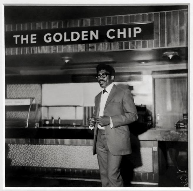 Raphael Albert (1935-2009) 'The Golden Chip, Hammersmith, London' c. 1970, printed 2012