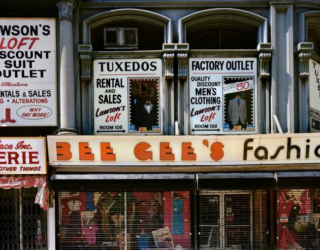 Wayne Sorce. 'Bee Gee's, New York' 1984