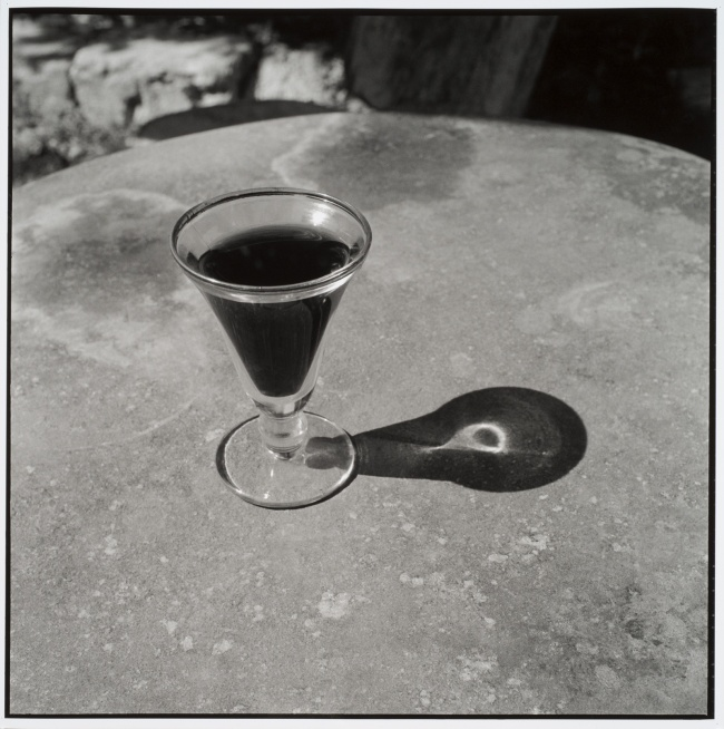 Bill Culbert. 'Small glass pouring Light, France' 1997