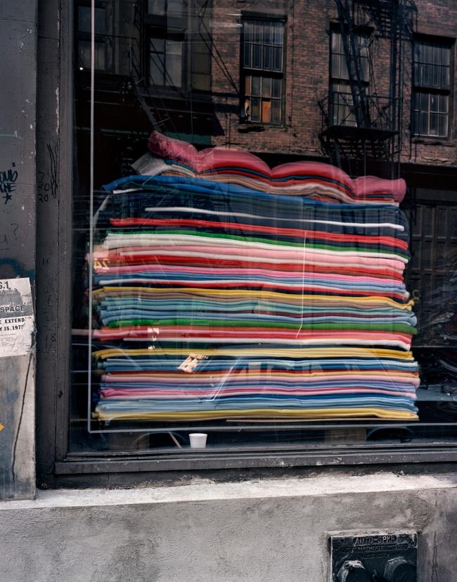Wayne Sorce. 'Blankets, New York' 1986