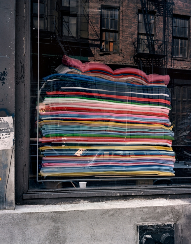 Wayne Sorce. 'Blankets, New York' 1986