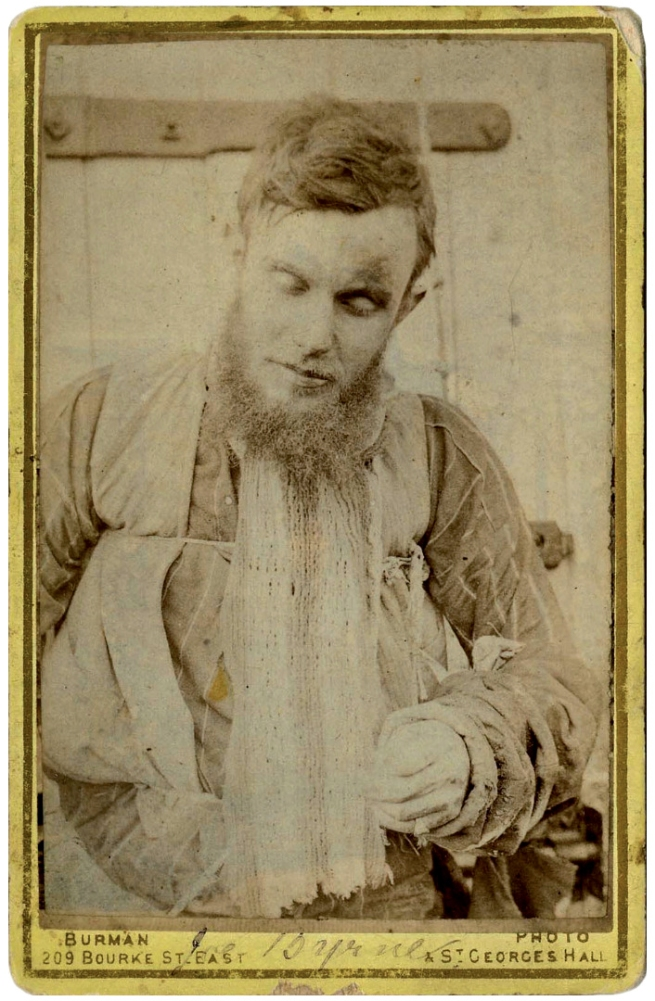 William J. Burman (1814-1890) 'Joe Byrne's Body, Benalla Gaol, 29 June 1880' 1880
