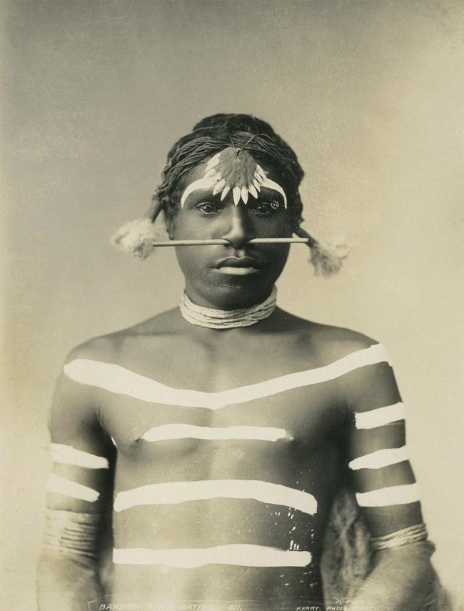 Charles Kerry (1857-1928) 'Aboriginal Chief' c. 1901-1907