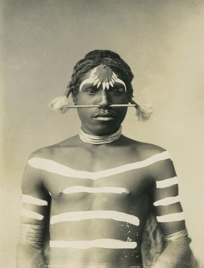 Charles Kerry (1857-1928) 'Aboriginal Chief' c. 1901-1907