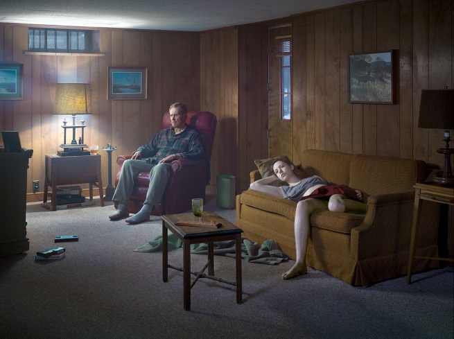 Gregory Crewdson. 'The Basement' 2014