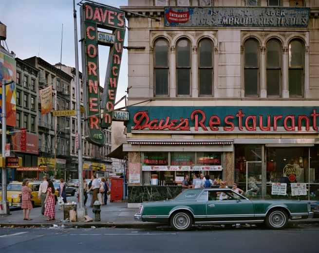 Wayne Sorce. 'Dave's Restaurant, New York' 1984