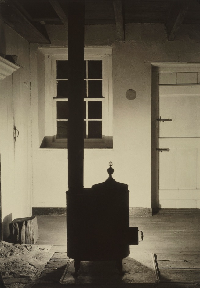Charles Sheeler (American, 1883-1965) 'Doylestown House - The Stove' about 1917