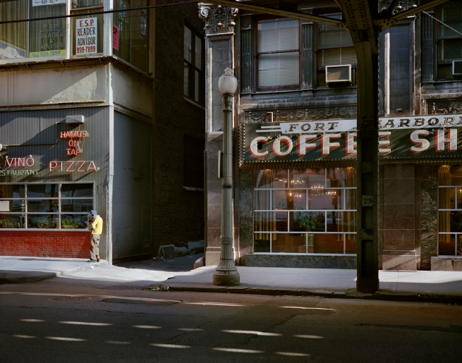 Wayne Sorce. 'Fort Dearborn Coffee, Chicago' 1977
