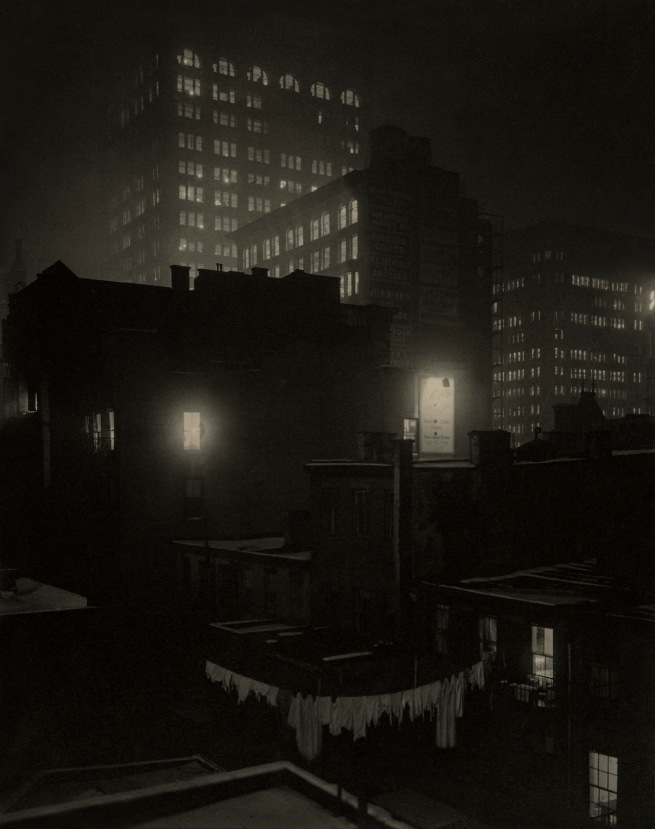 "Alfred Stieglitz (American, 1864-1946) 'From the Back Window - ""291"" (1)' 1915"
