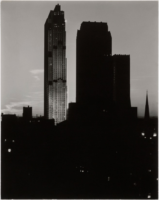 Alfred Stieglitz (American, 1864-1946) 'From the Shelton, Looking West' 1935-36
