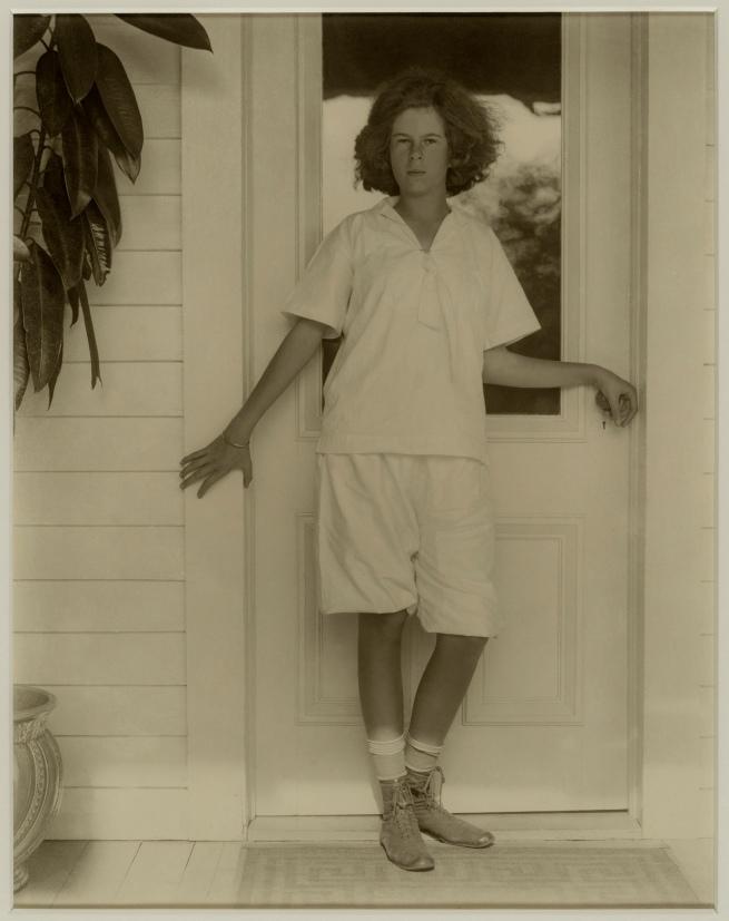 Alfred Stieglitz (American, 1864-1946) 'Georgia Engelhard' 1920