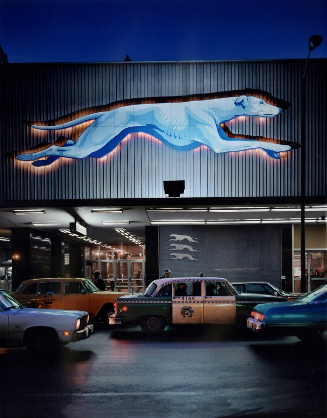 Wayne Sorce. 'Greyhound Station' c. 1970's