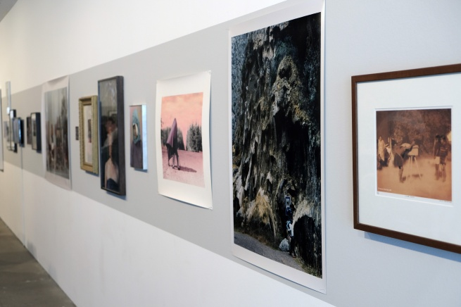 Installation view of the exhibition 'An Unorthodox Flow of Images' at the Centre for Contemporary Photography (CCP), Melbourne, September - November 2017