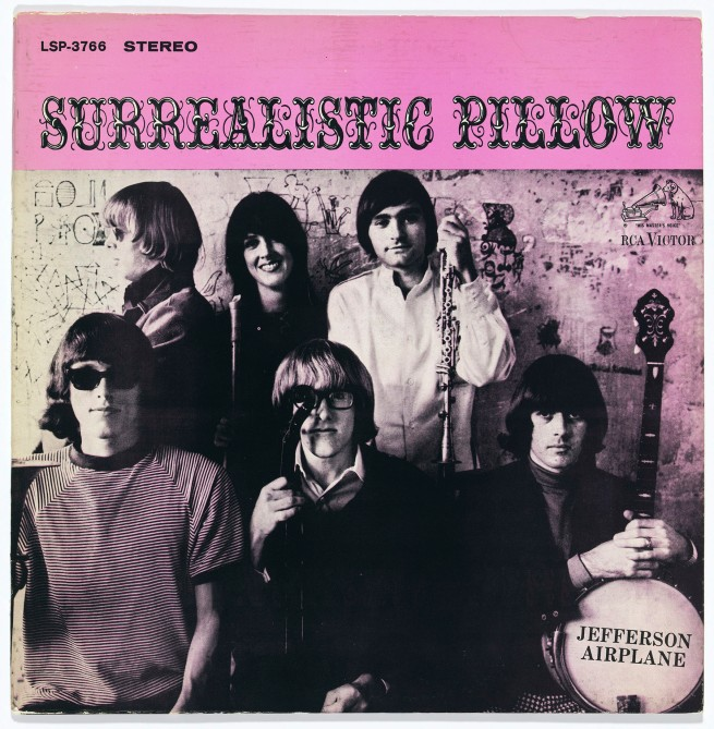 Cover photograph by Herb Greene (American, born in 1942) 'Jefferson Airplane, Surrealistic Pillow' 1967