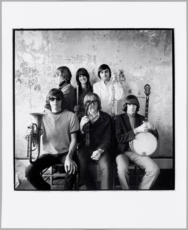 Herb Greene (American, born in 1942) 'Jefferson Airplane' 1966