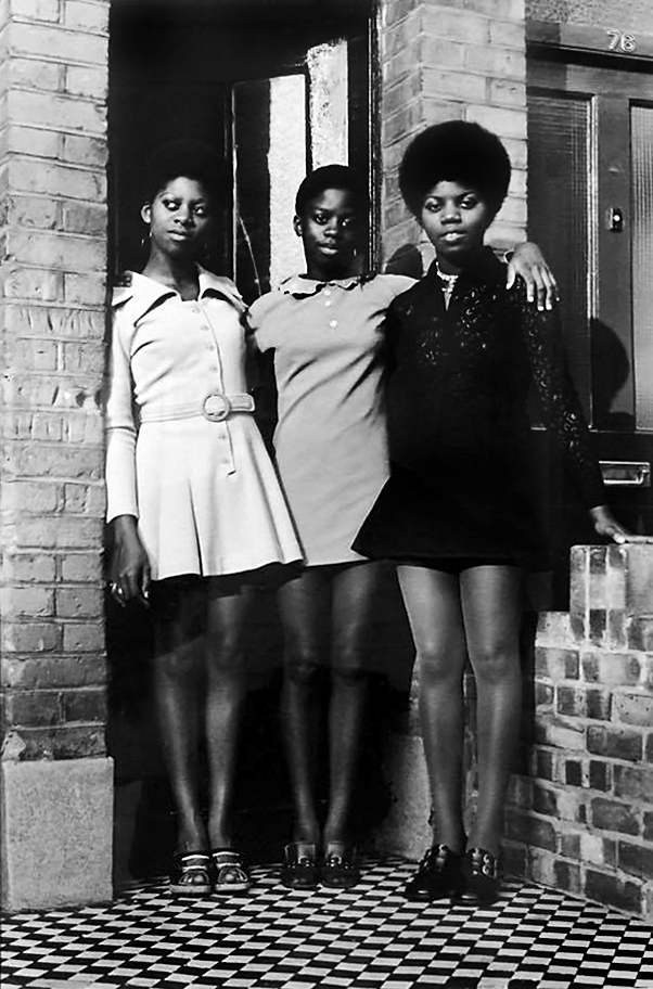 Neil Kenlock (born 1950) 'The Bailey Sisters in Clapham' c. 1970, printed 2010