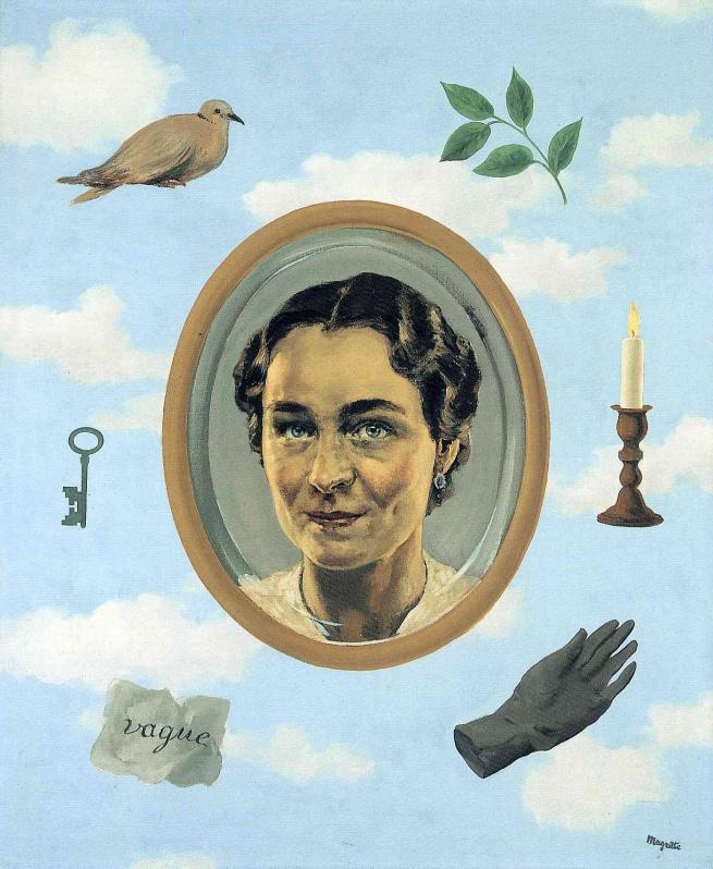 René Magritte (1898-1967) 'Georgette' 1937