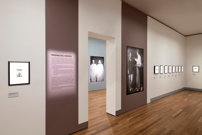 Installation view of the exhibition 'René Magritte: The Revealing Image' at the Latrobe Regional Art Gallery