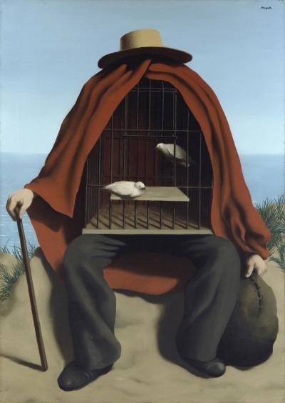 René Magritte (1898-1967) 'The Healer' 1937