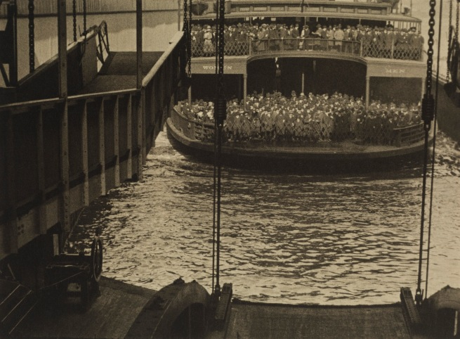 Charles Sheeler (American, 1883-1965) 'Manhatta - Ferry Docking' Negative date: 1920