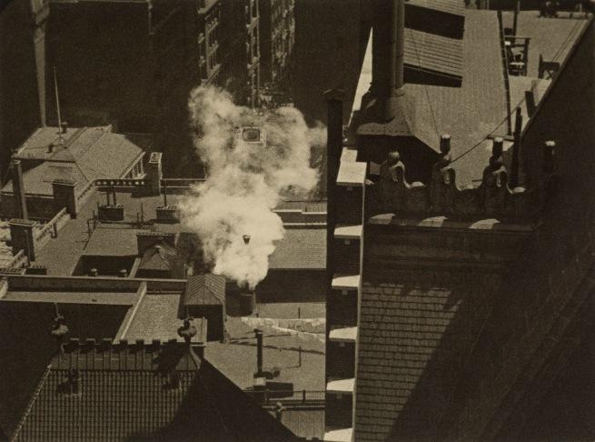 Charles Sheeler (American, 1883-1965) 'Manhatta - Rooftops' Negative date: 1920