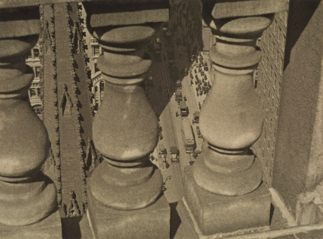 Charles Sheeler (American, 1883-1965) 'Manhatta - Through a Balustrade' Negative date: 1920