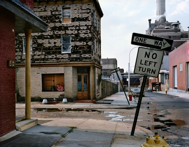 Wayne Sorce. 'No Left, Vinegar Hill' 1988