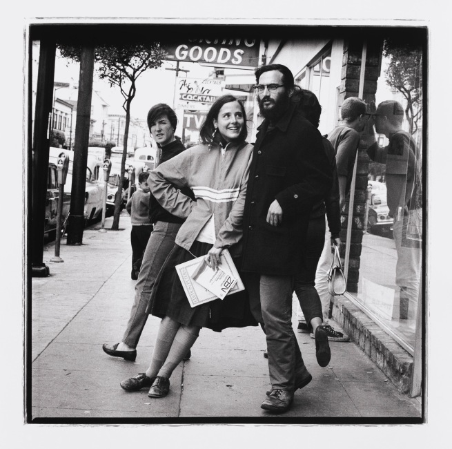 Herb Greene (American, born in 1942) 'Ohio to San Fransico: Haight Street 1967 (Plate 17)' 1967, printed 2013