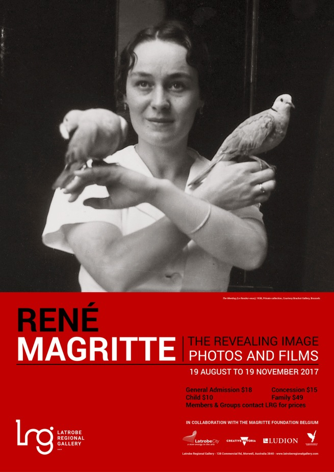 'René Magritte: The Revealing Image, Photos and Films' poster
