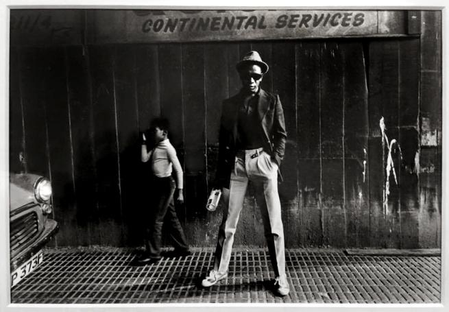 Syd Shelton (born 1947) 'Bagga (Bevin Fagan), Hackney, East London' 1979, printed 2012