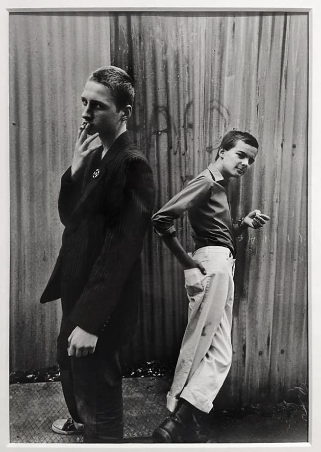 Syd Shelton (born 1947) 'Skinheads, Petticoat Lane, East London' 1979, printed 2012
