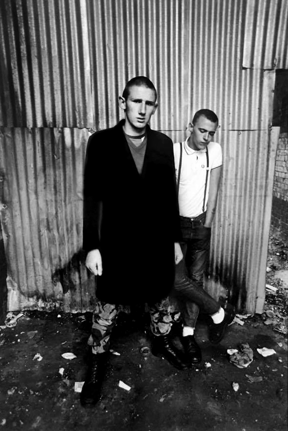 Syd Shelton (born 1947) 'Anti racist Skinheads, Hackney, London' 1979, printed 2012