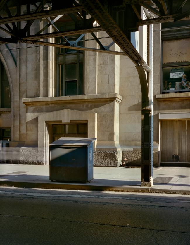 Wayne Sorce. 'Under the EL, Chicago' 1978
