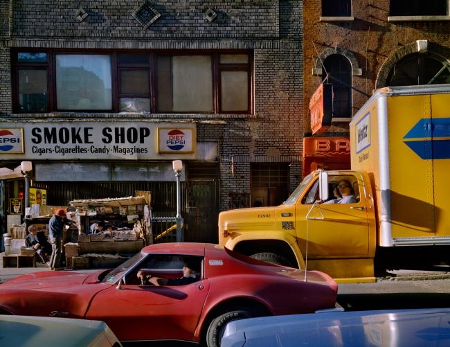 Wayne Sorce. 'Varick Street, New York' 1984