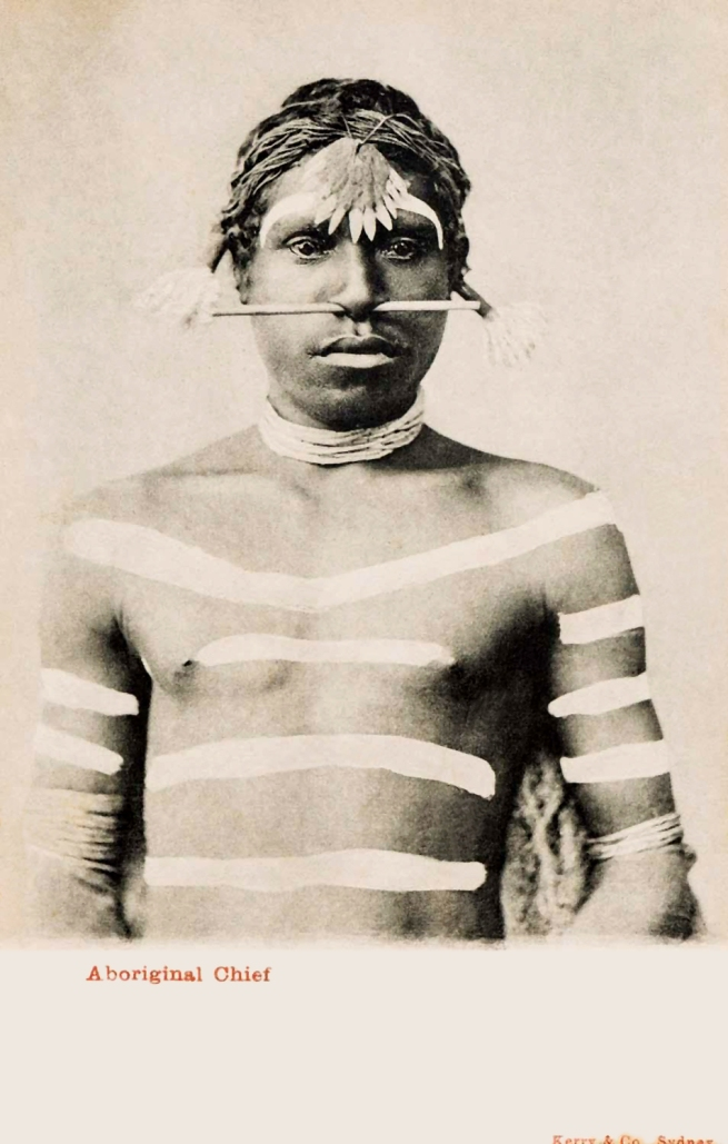 Kerry & Co., (Sydney) 'Aboriginal chief' c. 1900-1917