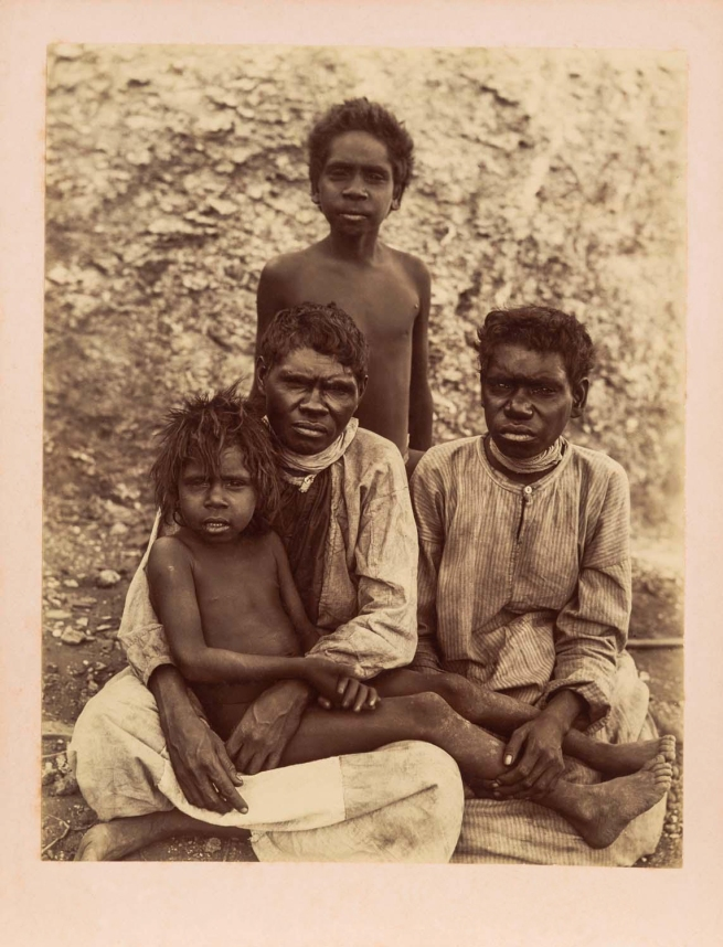 Anonymous photographer. 'Untitled [Aboriginal family group]' Nd