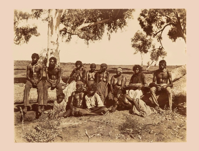 Anonymous photographer. 'Untitled [Aboriginal group]' Nd