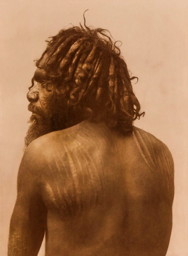 Anonymous photographer. 'Untitled [Aboriginal with scars]' Nd