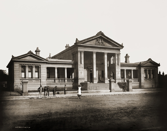 Unknown photographer. 'Court House Orange N.S.W., Courthouses of New South Wales' c. 1870-80s