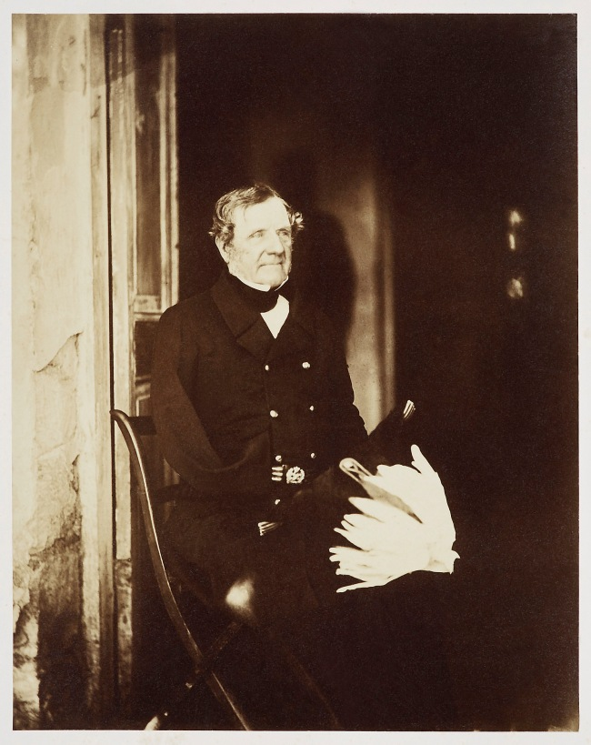 Roger Fenton (1819-69) 'Fitzroy James Henry Somerset, Baron Raglan (1788-1855)' 4 Jun 1855