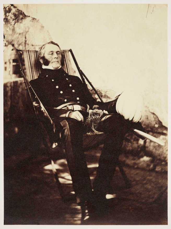 Roger Fenton (1819-69) 'General James Bucknall Estcourt (1802-1855)' 1855