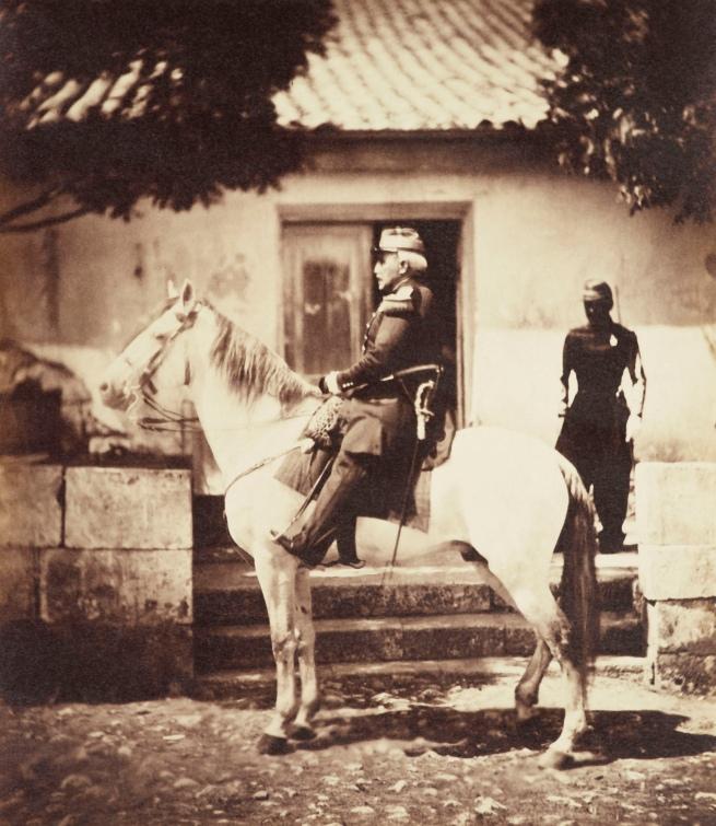 Roger Fenton (1819-69) 'Maréchal Pélissier, Duke of Malakoff (1794-1864)' Jun 1855