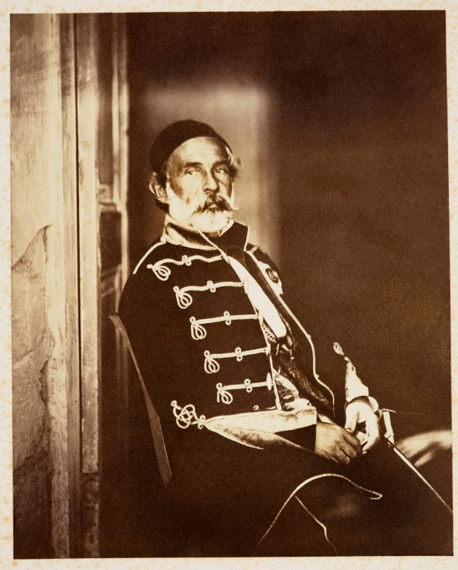 Roger Fenton (1819-69) 'Omar Pacha (1806-1871)' 1855