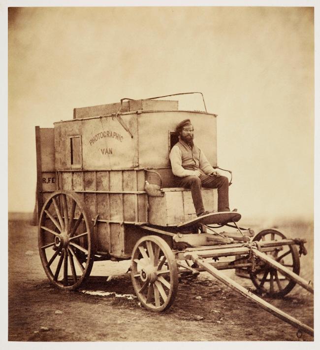 Roger Fenton (1819-69) 'Photographic Van' 1855